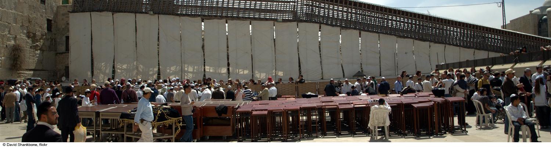 bat bat mitzvah in front of the western wall in jerusalem israel