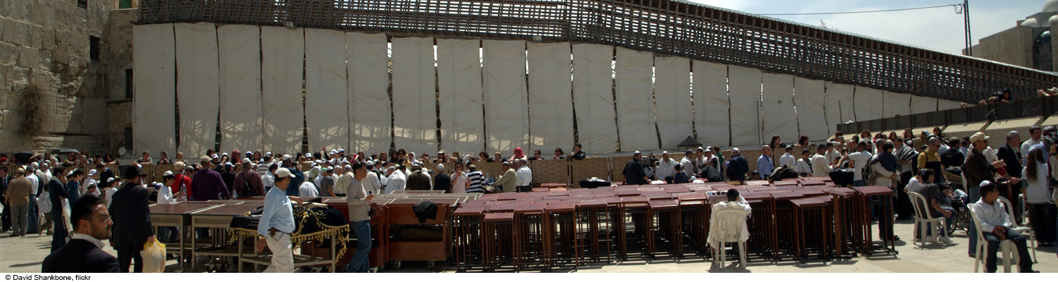 bat bat mitzvah in front of the western wall in jerusalem israel