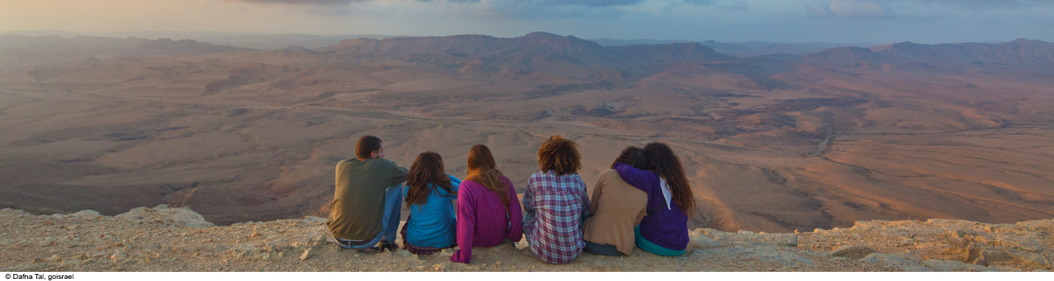 israel group negev desert ramon crater