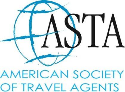 American Society of Travel AGents logo